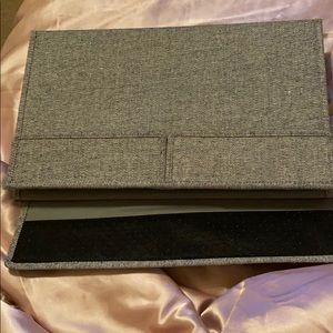 Laptop bed holder